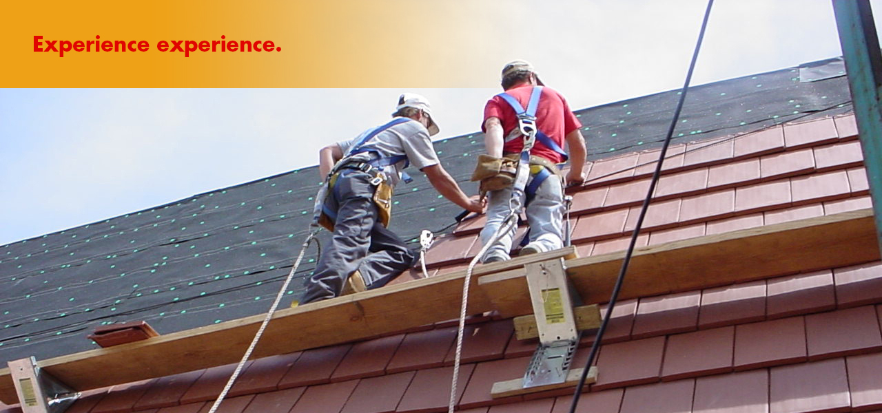 Steep-slope roofing craftsmen