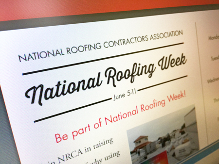 It S National Roofing Week Tri State Service Roofing